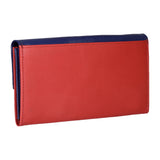 RNW-005 Blue & Yellow Bifold Wallet
