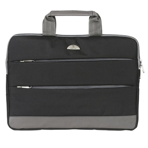 1807 Black Laptop Sleeve