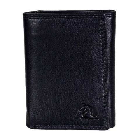 14065 Black Trifold Wallet