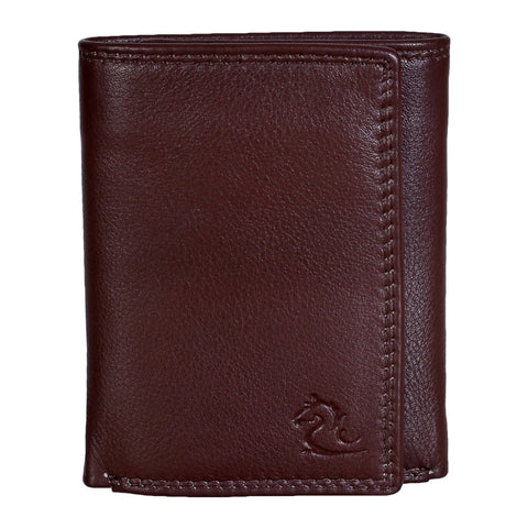 14065 Tan Trifold Wallet