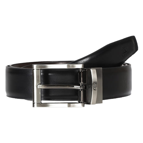 4176 Black & Brown Reversible Belt for Men