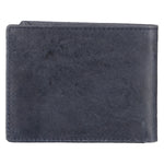 10107 Blue Bifold Wallet