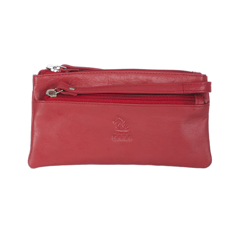 7027 Red Hand Pouch