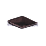 10119 Brown Croco Card Holder