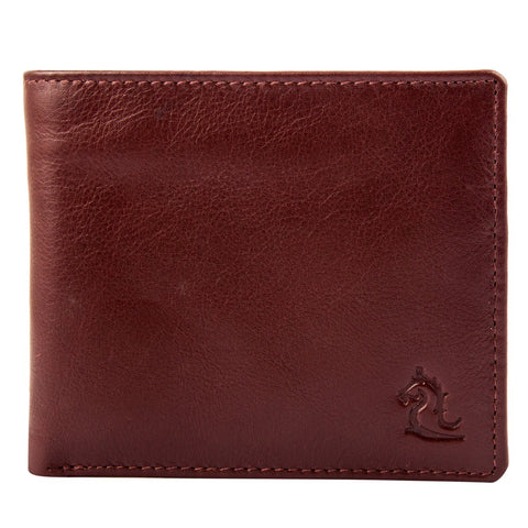 Tan Leather Bifold Wallet
