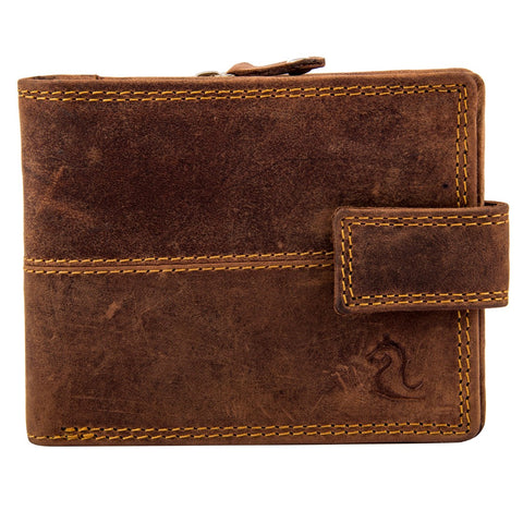 14081 Brown Bifold Wallet