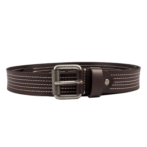 4143 Tan Leather Belt for Men