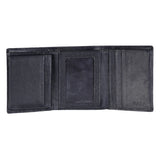 14038 Black Trifold Wallet