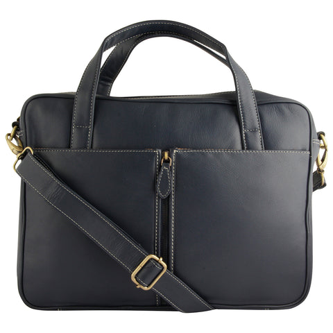 Bali Navy Blue Laptop Bag