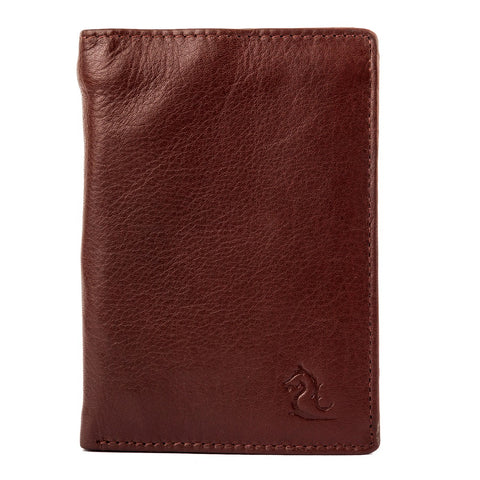 10094 Tan Trifold Wallet