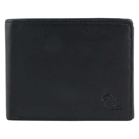 14001 Black Bifold Wallet
