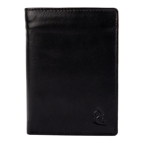 10094 Black Trifold Wallet