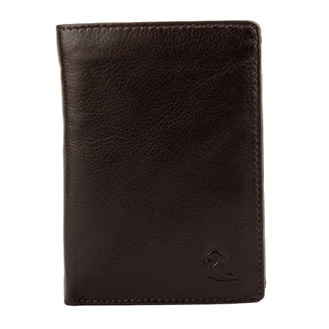 10094 Brown Trifold Wallet