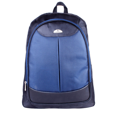 9258 Black & Blue Medium Backpack