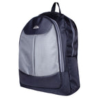 9258 Black & Grey Medium Backpack