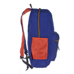 9270 Blue & Orange Foldable Backpack