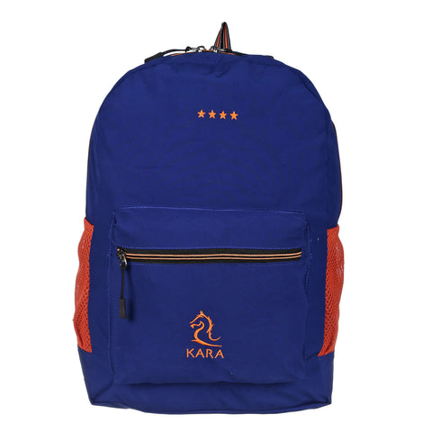 Blue & Orange Foldable Backpack