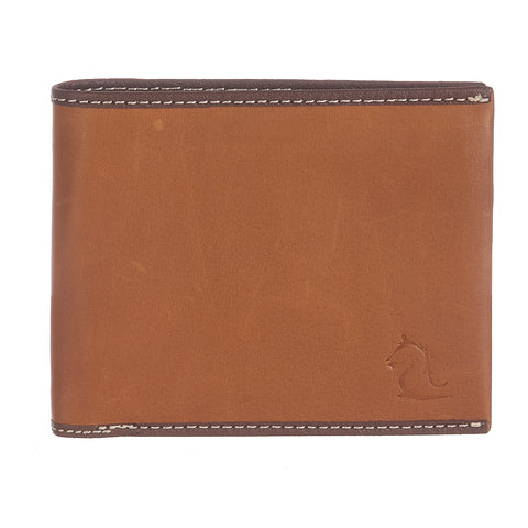 10117 Tan Bifold Wallet
