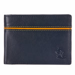 14091 Black & Yellow Bifold Wallet