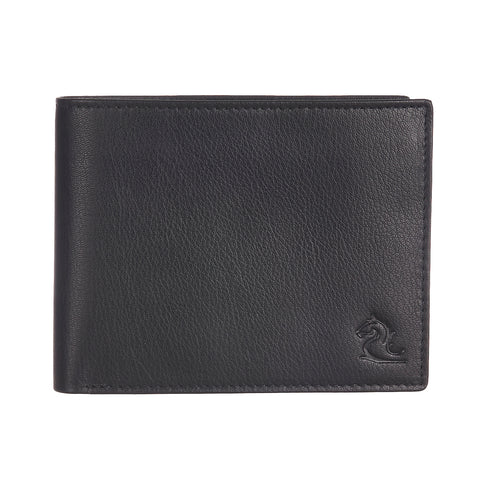 13003 Black Bifold Coin Wallet