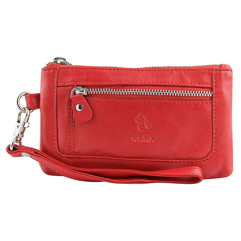 7028 Red Hand Pouch