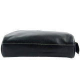 Malia Brown Leather Wash Bag for Men and Women