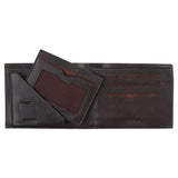 10077 Brown Bifold Wallet