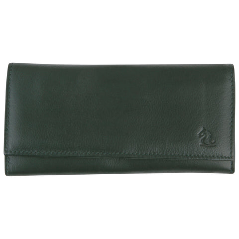 7007 Olive Trifold Wallet