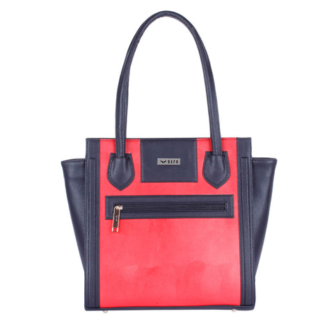 RN-602 Black & Red Handbag