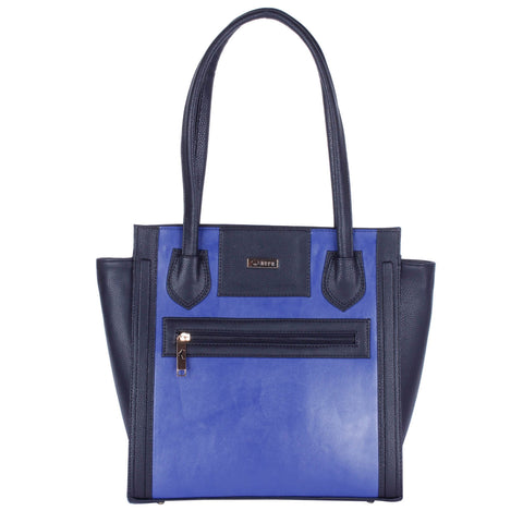 RN-602 Black & Blue Handbag
