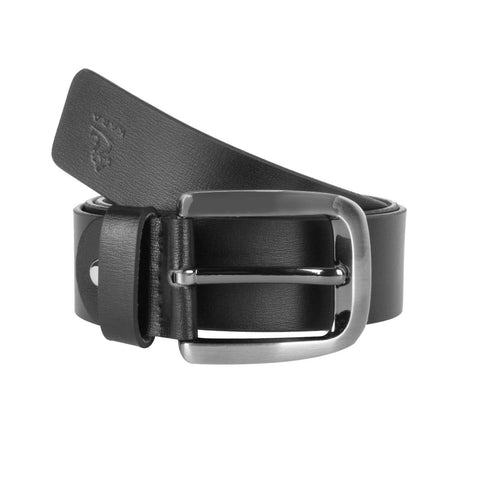 4131 Black Leather Belt for Men