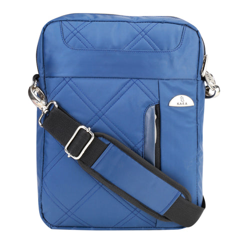 55458 Blue Quilted Bag