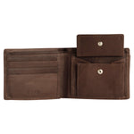 RNM-010 Black Bifold Wallet