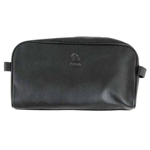 Ted Brown Leather Wash Bag for Men