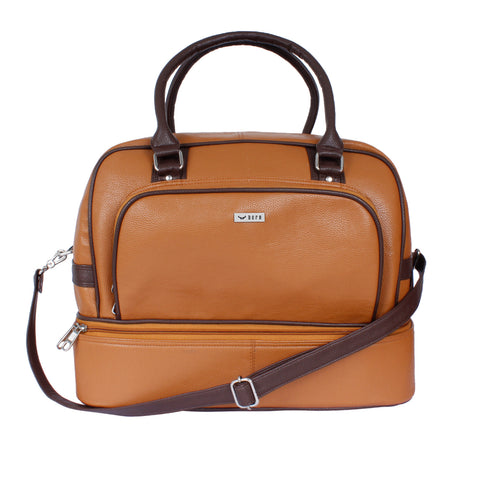Mike Camel & Brown Gym Bag
