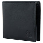 14011 Black Medium Bifold Wallet