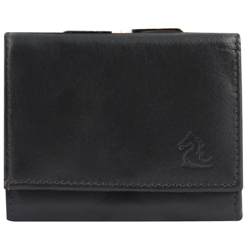 7010 Black Trifold Wallet