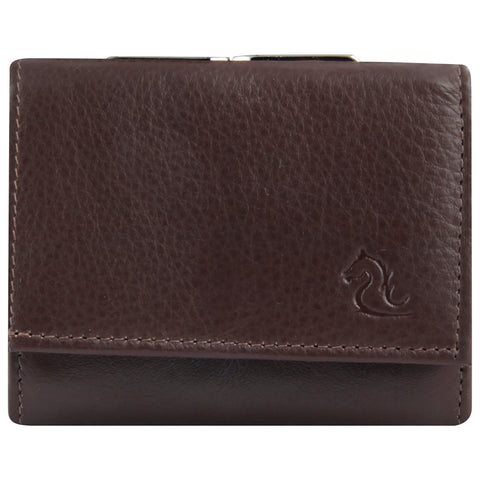 7010 Brown Trifold Wallet