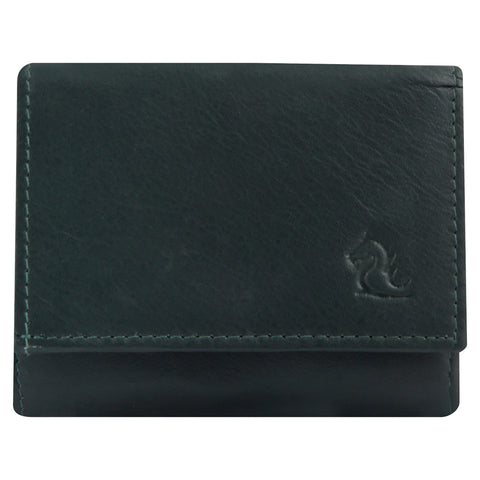 7010 Olive Trifold Wallet