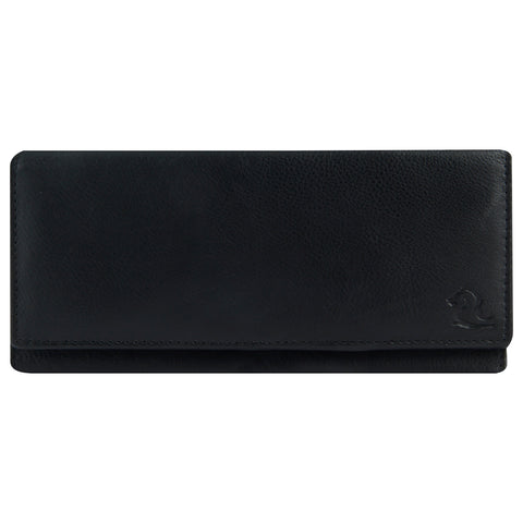 7019 Black Extra Thin Wallet