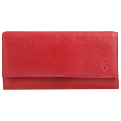 7007 Red Trifold Wallet
