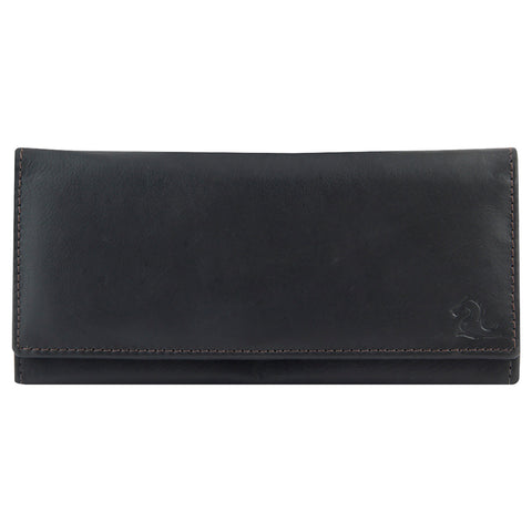 7019 Brown Extra Thin Wallet