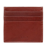 10079 Black Leather Card Holder for Men and Women