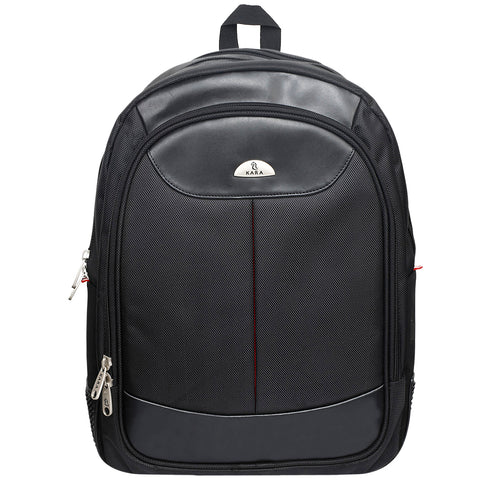 9257 Black Unisex Backpack