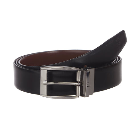 4229 Black & Tan Reversible Oversize Belt