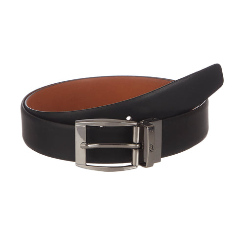 4236 Black & Tan Reversible Belt