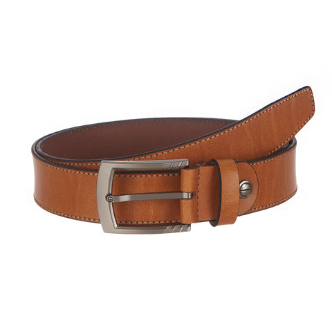 4241 Tan Leather Belt for Men