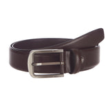 4243 Wine Leather Belt for Men