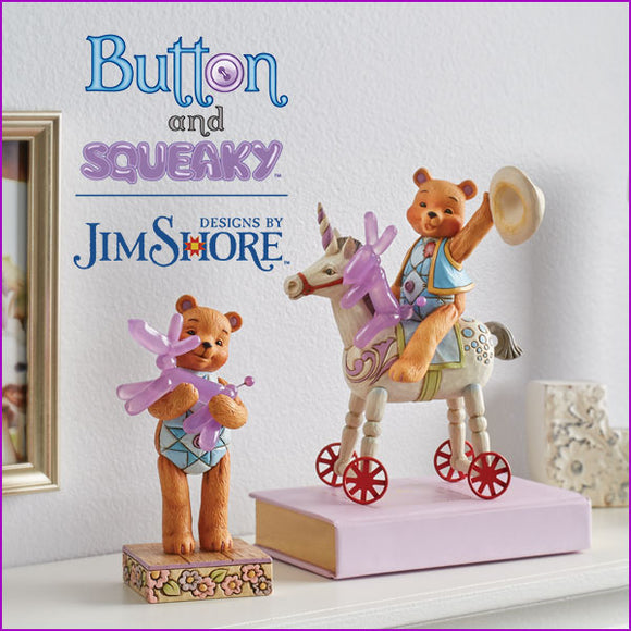Button and Squeaky | Designs by Jim Shore