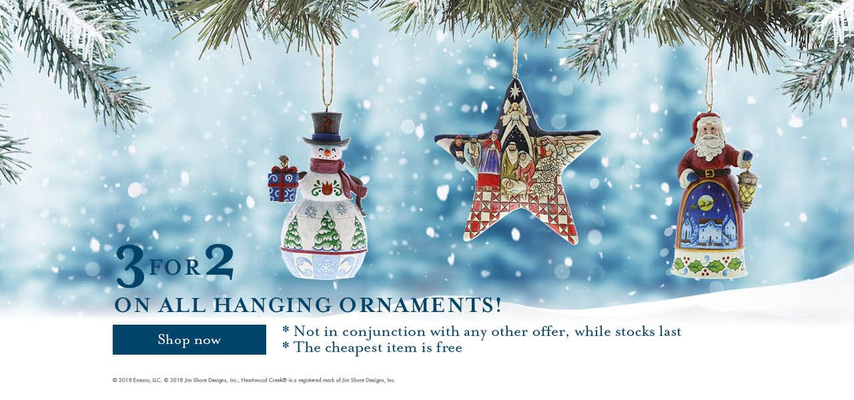 3 for 2 on hanging ornaments